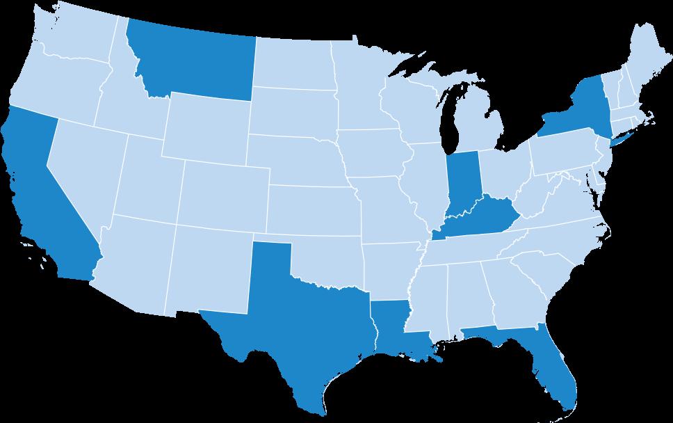 united states map image